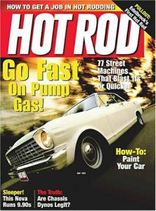 hot rod magazine subscription